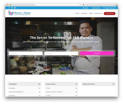 WordPress theme Pointfinder - mortarpestlesg.com