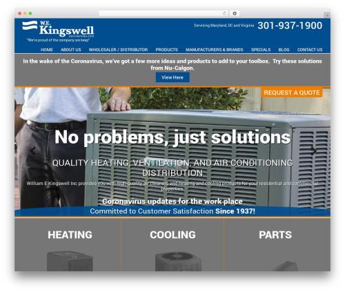 AWI WordPress theme design - wekingswell.com