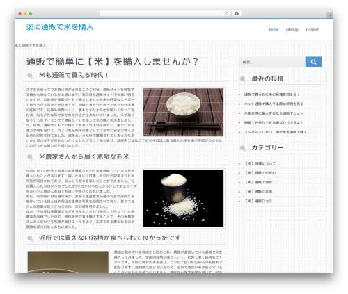 Businessweb Plus template WordPress - oneofakindpasta.com