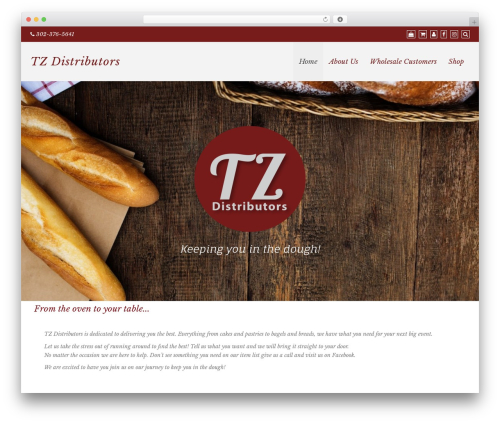 Di Responsive theme WordPress - tzdistributors.com