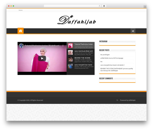 Sahifa | Shared By VestaThemes.com theme WordPress - daffahijab.com