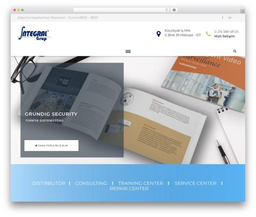Sunergy best WordPress theme - integralgrup.com