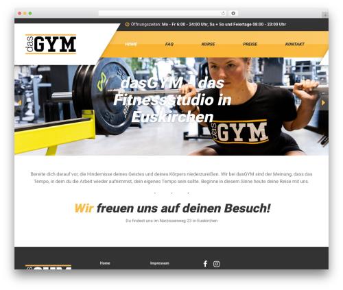 WP theme GymPress PT - das-gym.com