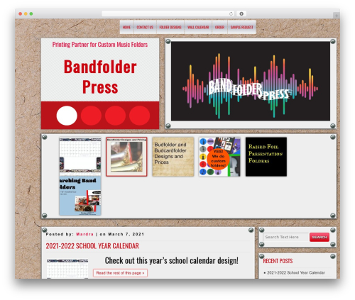 DISCUSSION WordPress template free download - bandfolderpress.com