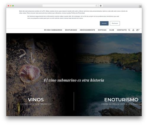 Movedo best WordPress template - underwaterwine.com