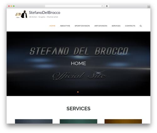 Pet Business WordPress page template - stefanodelbrocco.com