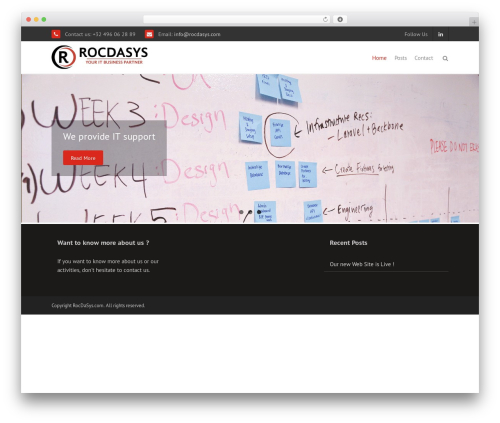 THBusiness Pro WordPress template for business - rocdasys.com