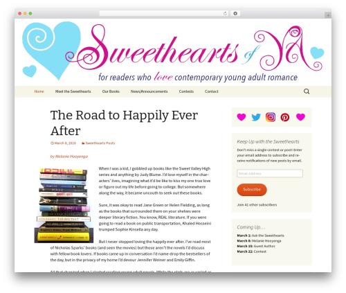 Twenty Thirteen free WordPress theme - sweetheartsofya.com