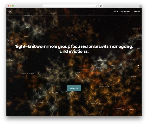 Best WordPress theme Movedo - kryptedgaming.com