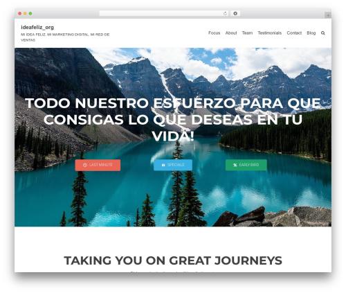Best WordPress theme Neve - ideafeliz.org