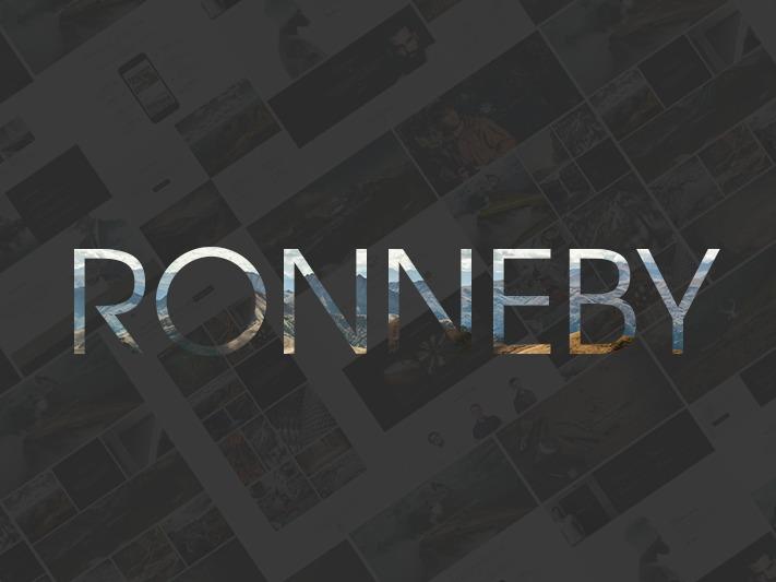 Child of Ronneby WordPress theme