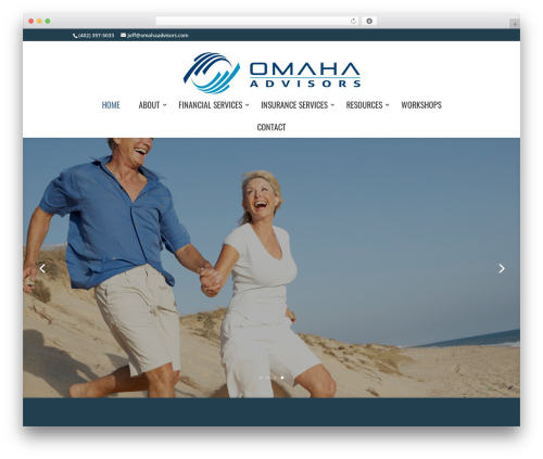 Divi WordPress theme - omahaadvisors.com