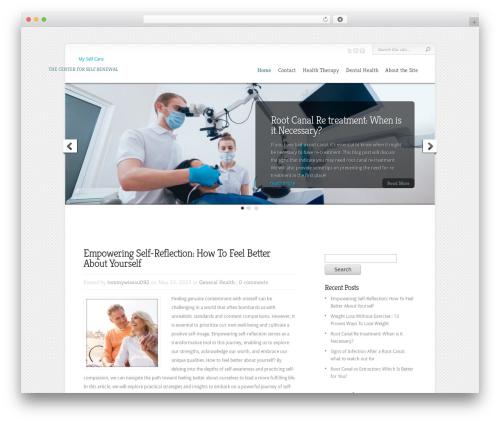 Theme WordPress Chameleon - myselfcare.org