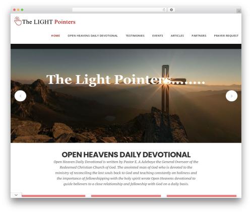 Theme WordPress DPR Bruno - thelightpointers.com