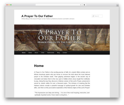 Twenty Eleven theme WordPress free - prayertoourfather.com