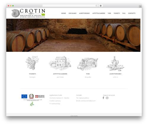 WordPress theme Bridge - crotin1897.com