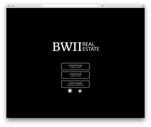 Betheme best real estate website - b-wii.com