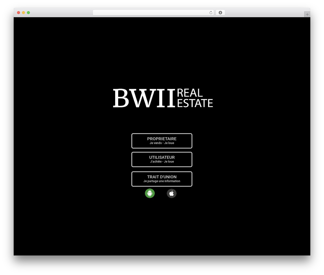 Betheme best real estate website - b-wii.com