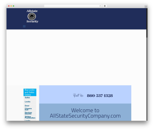 Betheme WordPress template for business - allstatesecuritycompany.com