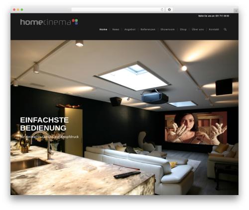 WordPress woocommerce_postfinancecw plugin - homecinema.ch