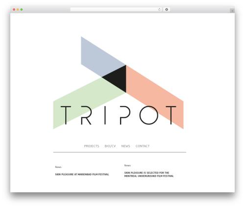 Jupiter WordPress theme - tripot.org
