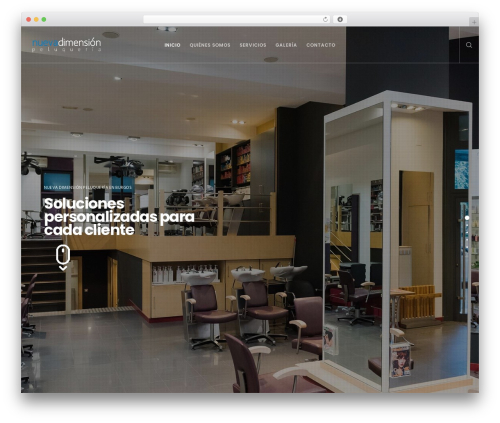 Movedo WordPress template - ndpeluqueria.com