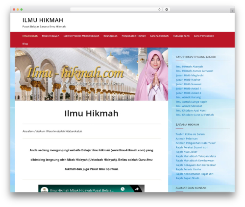 Telescope WordPress theme - ilmu-hikmah.com
