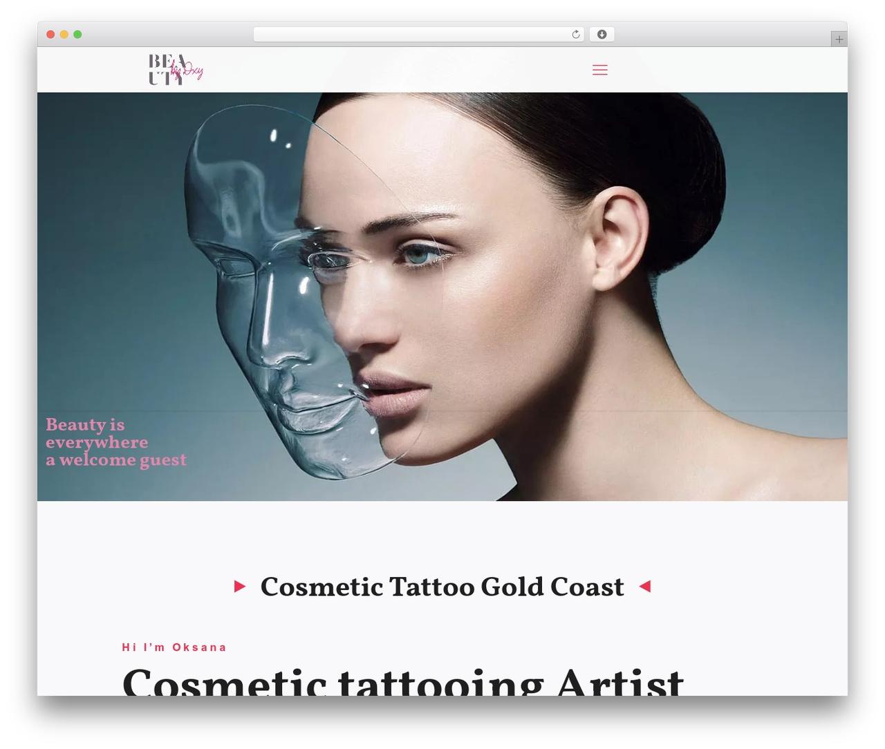 WordPress theme Betheme - beautyoxy.com