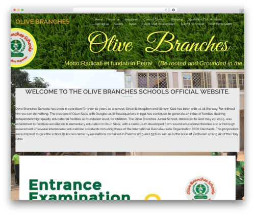 WordPress website template Sydney - olivebranchesschoolsosogbo.com