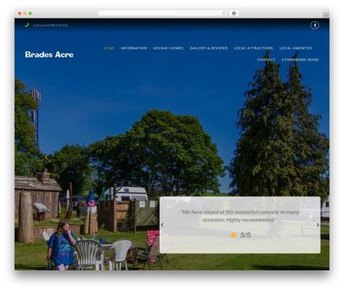 WP theme GeneratePress - bradesacre.co.uk