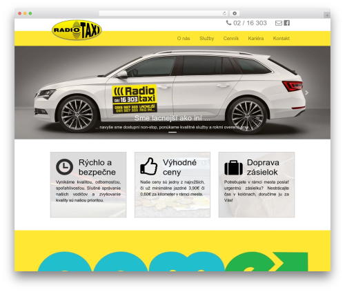 BLANK Theme theme WordPress - radio-taxi.sk