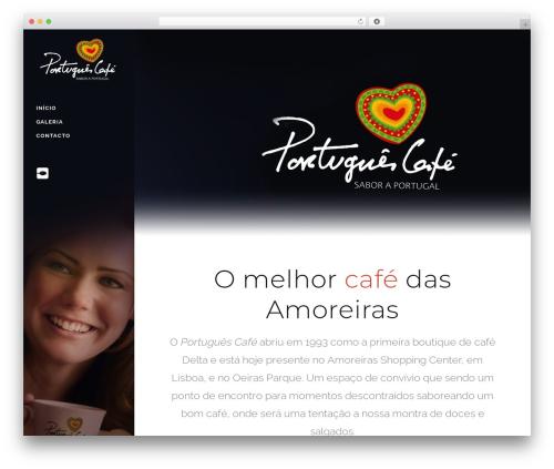 Bridge WordPress theme - portuguescafe.pt