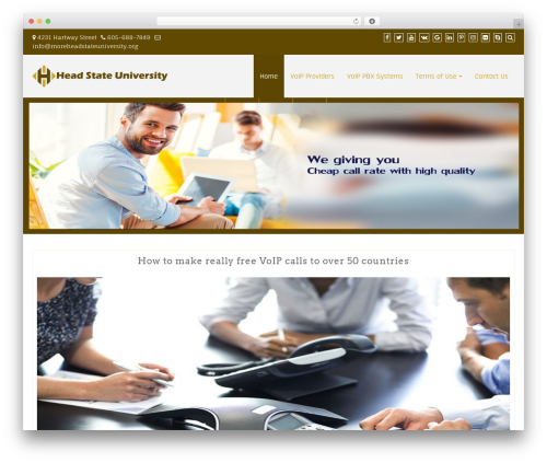 Creative Agency WordPress website template - moreheadstateuniversity.org