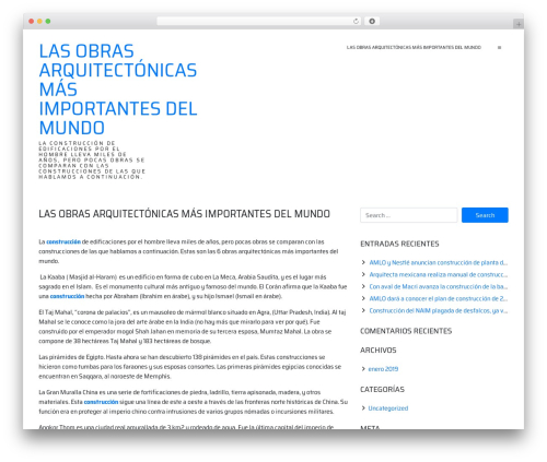 ioBoot top WordPress theme - mercadeomuiscaconstrucciones.com