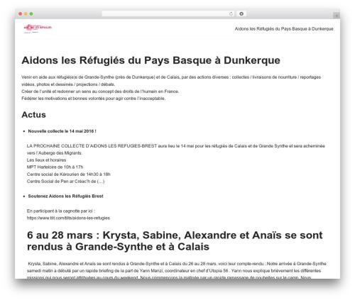 Neve WordPress website template - aidonslesrefugies-brest.org