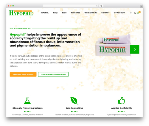 Shopscape WP template - hypophil.com