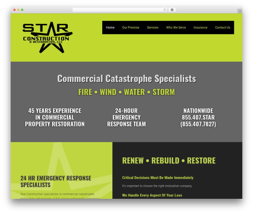 GeneratePress free WordPress theme - starconstructionus.com