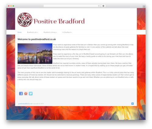 Split WordPress theme - positivebradford.co.uk