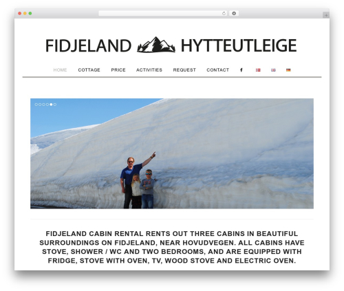 Total WordPress theme download - fidjeland.net