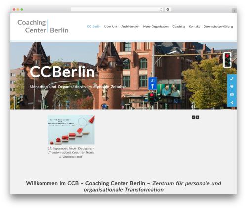 AccessPress Parallax WordPress template free - coachingcenterberlin.de