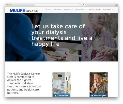 Template WordPress Modular - nulifedialysis.com