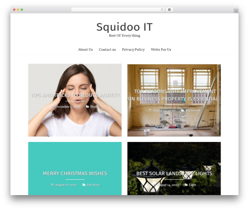 Theme WordPress Freedom - squidooit.com