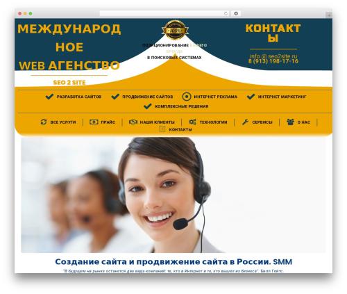 Density WordPress theme - seo2site.ru