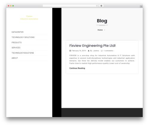 Density WordPress theme - fixviewengineering.com