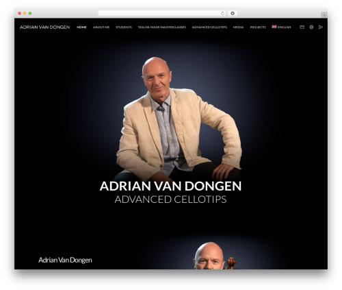 Movedo WordPress theme - adrianvandongen.com