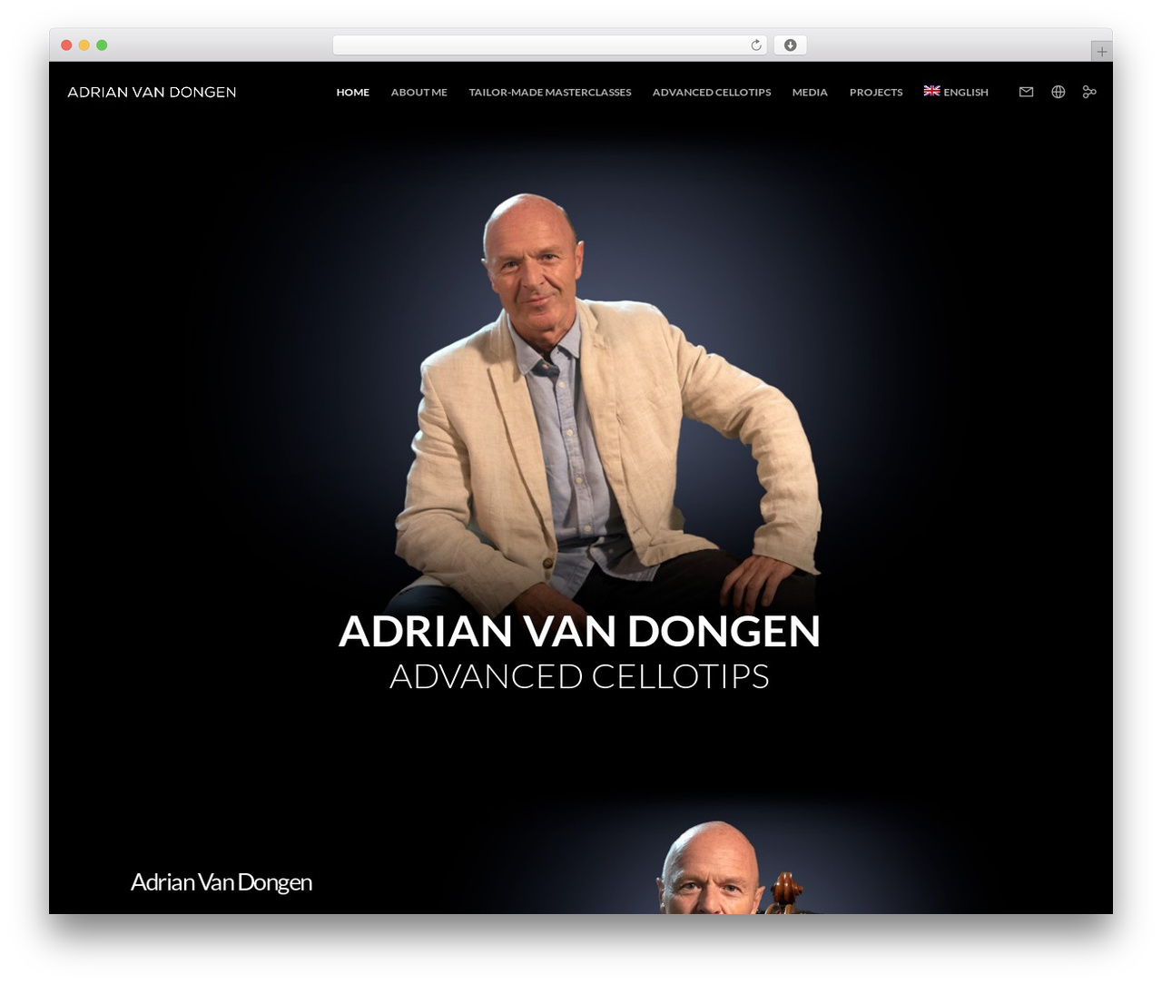 Movedo WordPress theme - adrianvandongen.com
