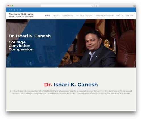Politist best WordPress template - drisharikganesh.com
