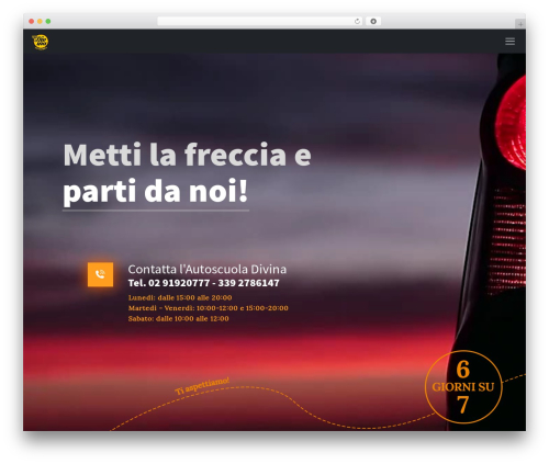 Theme WordPress Betheme - autoscuoladivina.it