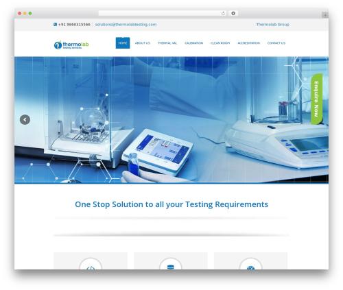 WordPress website template Soulmedic - thermolabtesting.com