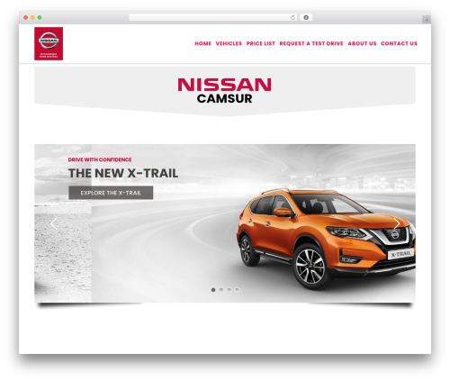 Customizr premium WordPress theme - nissancamsur.com